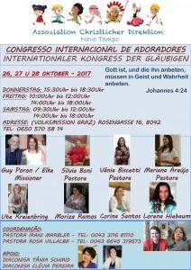 CONGRESSO ADORADORES 2017